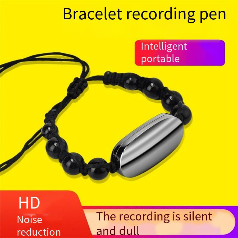 NEW 8GB MP3 Player Voice Recorder Bracelet USB Flash Drive Audio Recorder Fashion Digital Audio Recorder Mini Usb Voice Recorder enlarge