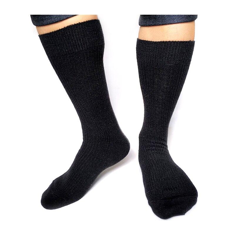 Новинка, Классические Полосатые мужские теплые носки, высококачественные брендовые хлопковые деловые мужские носки, мужские носки