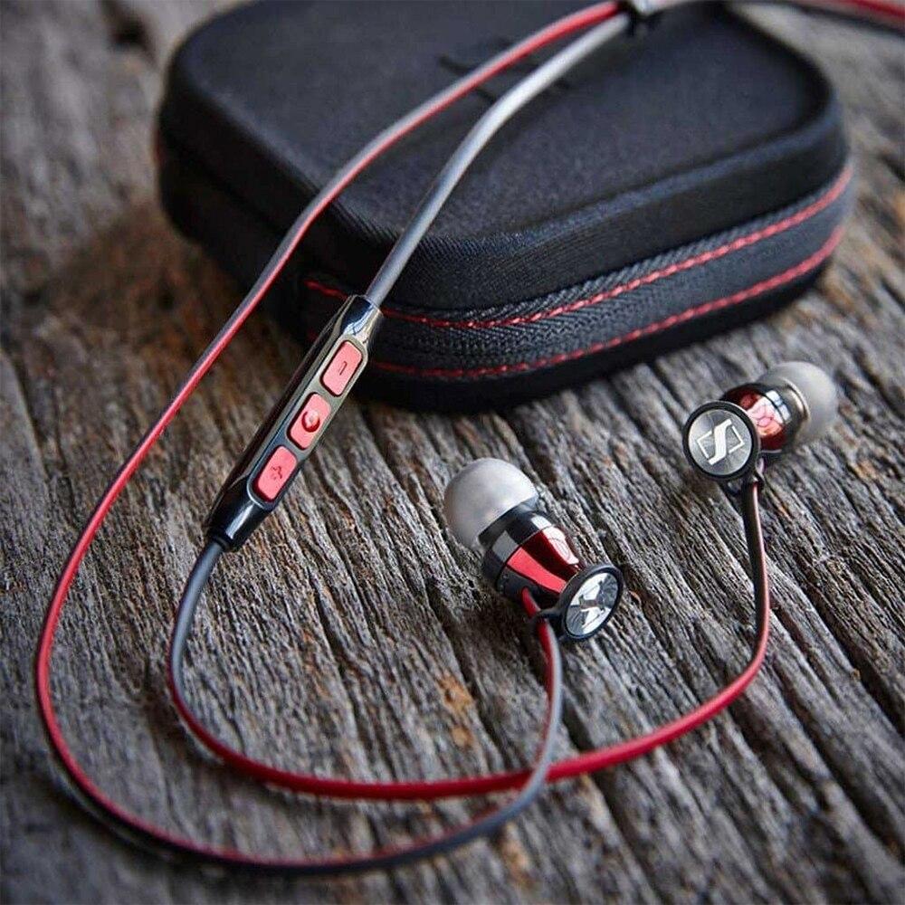 Sennheiser MOMENTUM Free Bluetooth Earphones Neckband Bass Sport Wireless Magnetic Earbuds Headset Noise Isolation Handsfree Mic enlarge