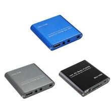 1080P Mini HD Media Player AV USB SD MMC Multimedia Advertising MKV Car External Video Player UK plug/US plug/EU plug