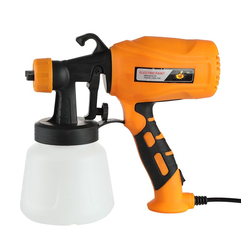 Electric Spray Gun Paint Sprayer 3 Nozzle 600ML 400W High Power Home  Easy Spraying and Clean Perfect for Beginner EU Plug