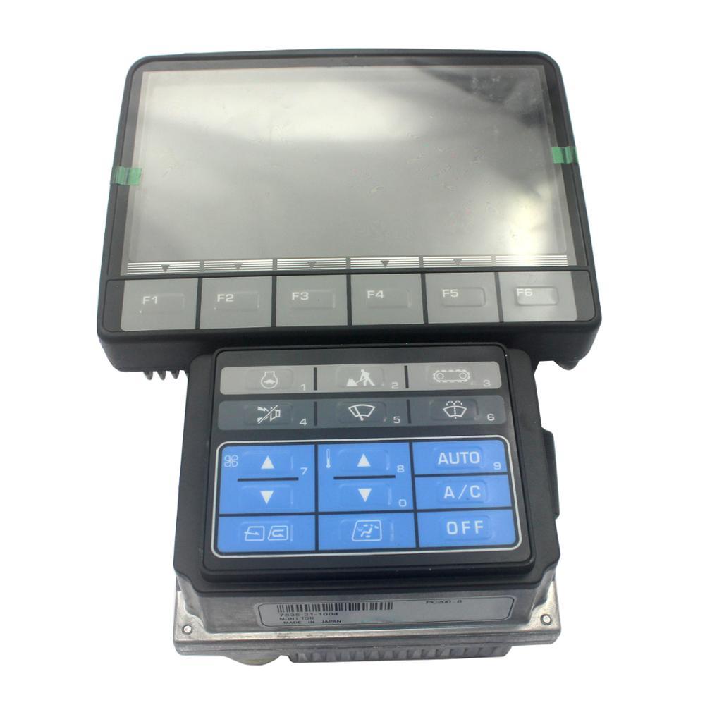 Monitor 7835-31-9002 para Komatsu PC138US-8 PC138USLC-8 excavadora Panel de pantalla con 1 año de garantía