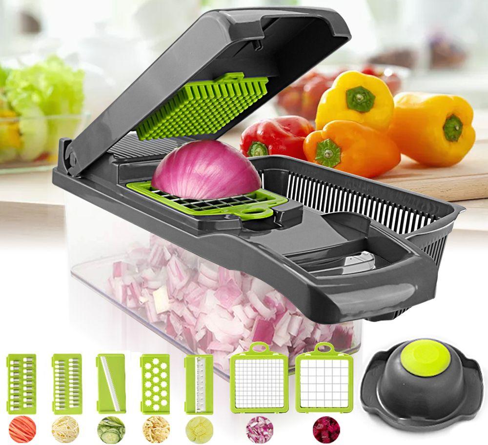 vegetable cutter multifunctional Slicer Fruit  Potato Peeler Carrot Grater Kitchen accessories basket vegetable slicer