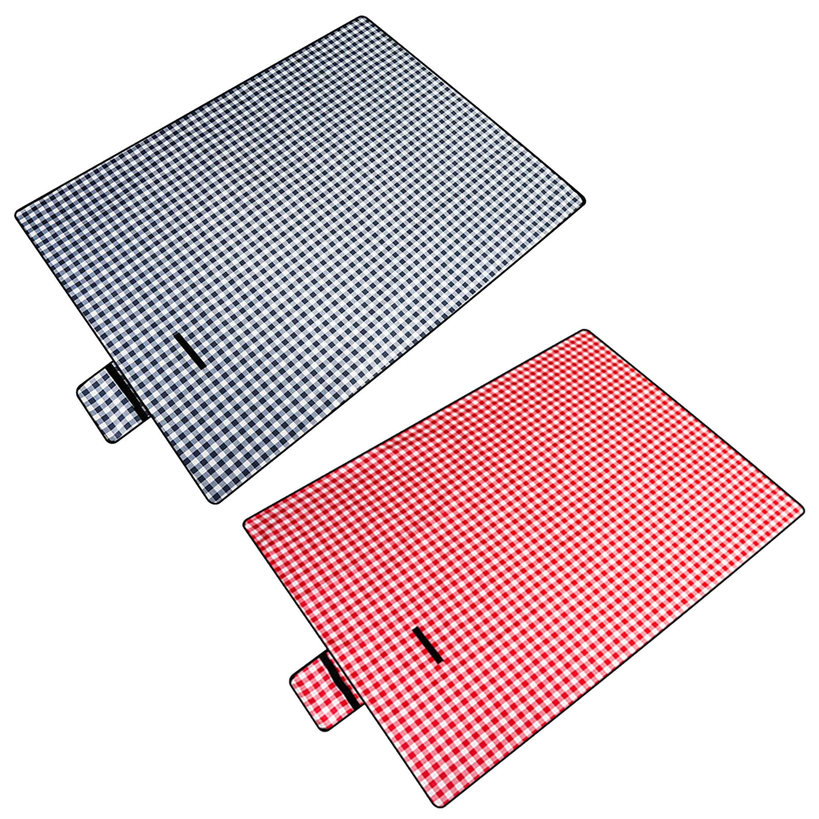 Outdoor Moisture-proof Picnic Mat With Handle Lawn Mat Beach Mat Portable Waterproof Oxford Cloth Mat For Picnic Camping Hiking vilead 4 sizes camping mat outdoor camping tent waterproof oxford cloth moisture pad thick beach mat picnic camping hiking