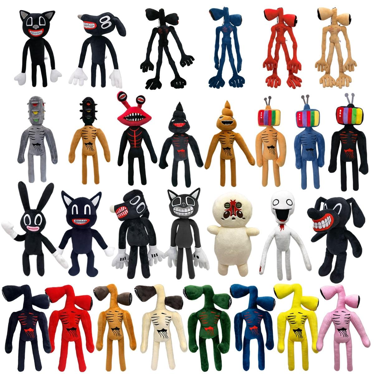 Super Soft Cashmere Siren Head Plush Toys Cartoon Comic Anime Model Doll Stuffed Toy Christmas Birthday Gift For Children недорого