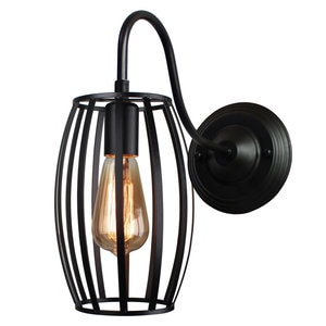 Vintage Industrial Wall Lamp Retro Loft Wall Light Lampshade Cage Guard Sconce Modern Restaurant Home Decor Light Fixtures LED
