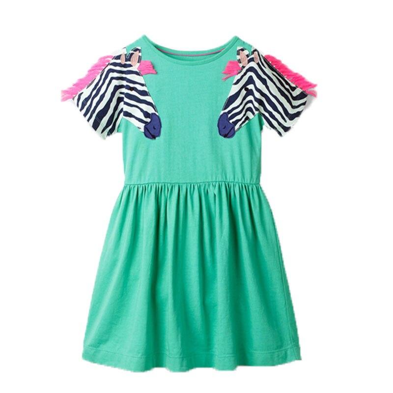 2020 Neue Ankunft Baby Prinzessin Kleider Baumwolle Sommer Mädchen Party Kleid Mode Kinder Schule Kinder Kleidung Kleinkind Kleider