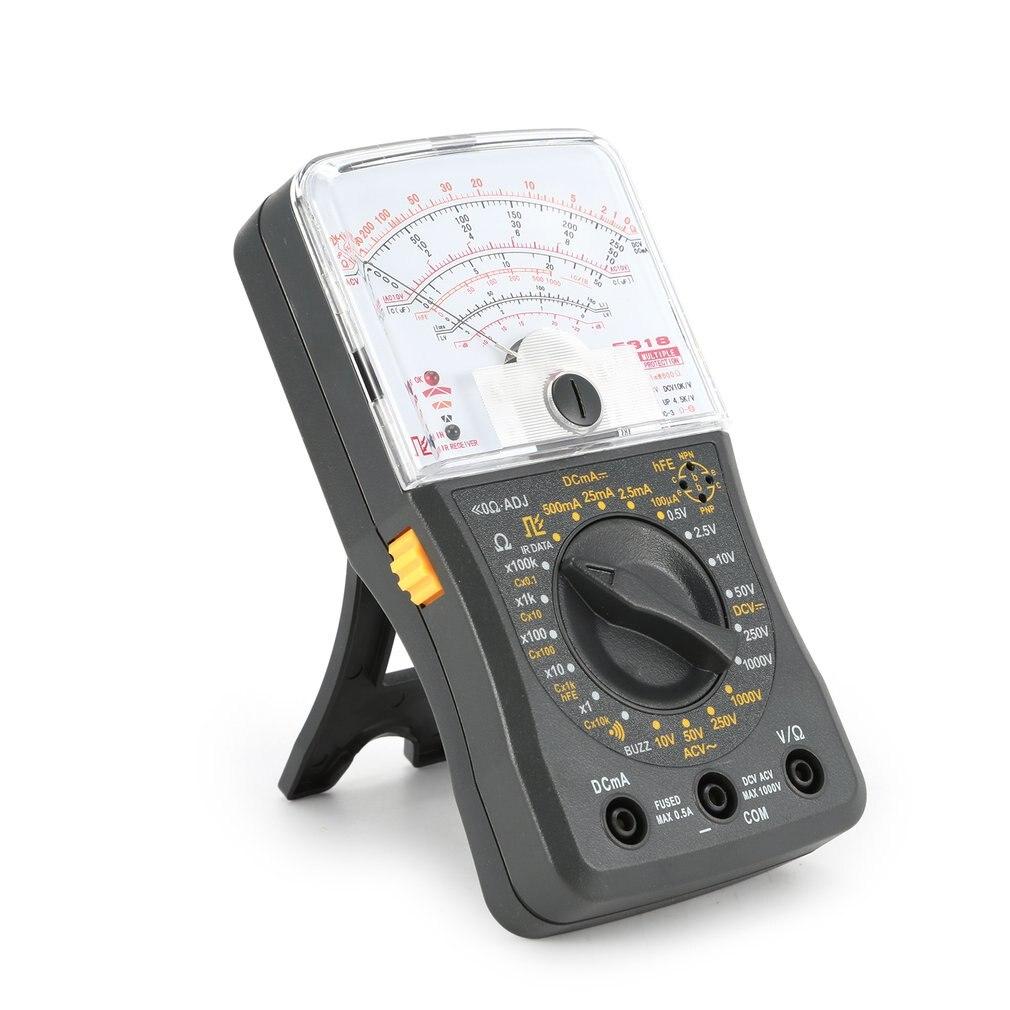 Testador de Fusível Mini Handheld Multímetro Analógico – dc Voltímetro Amperímetro Resistência Capacitância Continuidade & Diodos ac