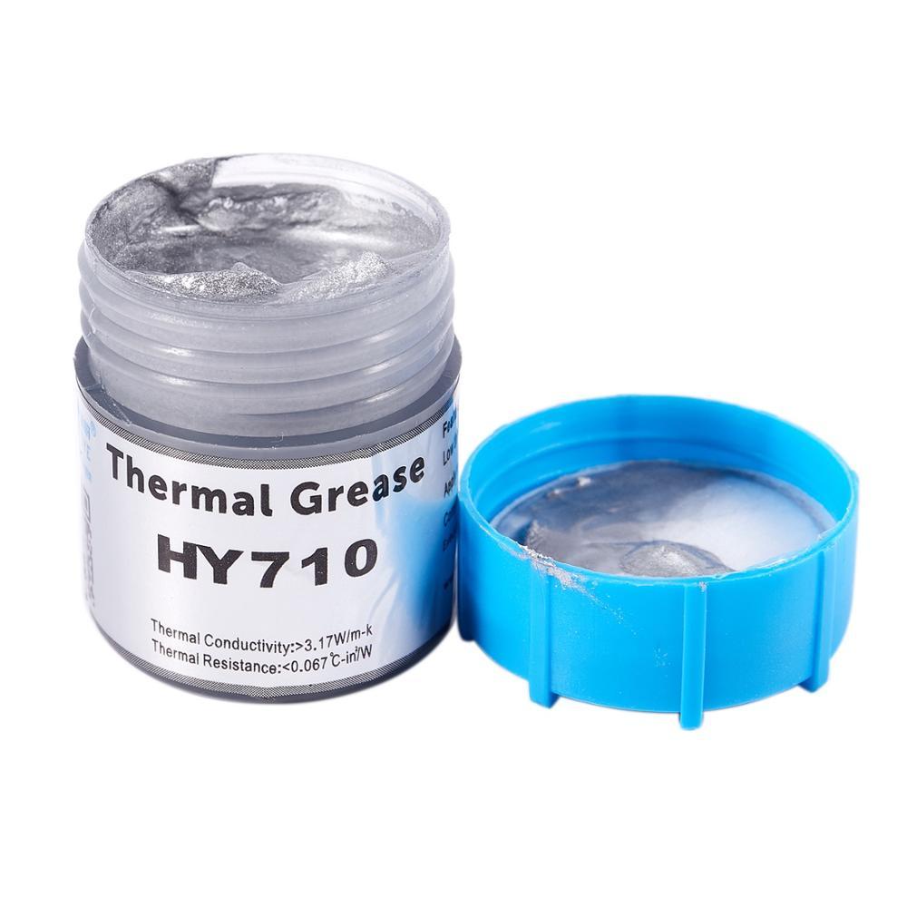 Conjunto de chips de pasta de grasa térmica de 20g para CPU GPU HY710