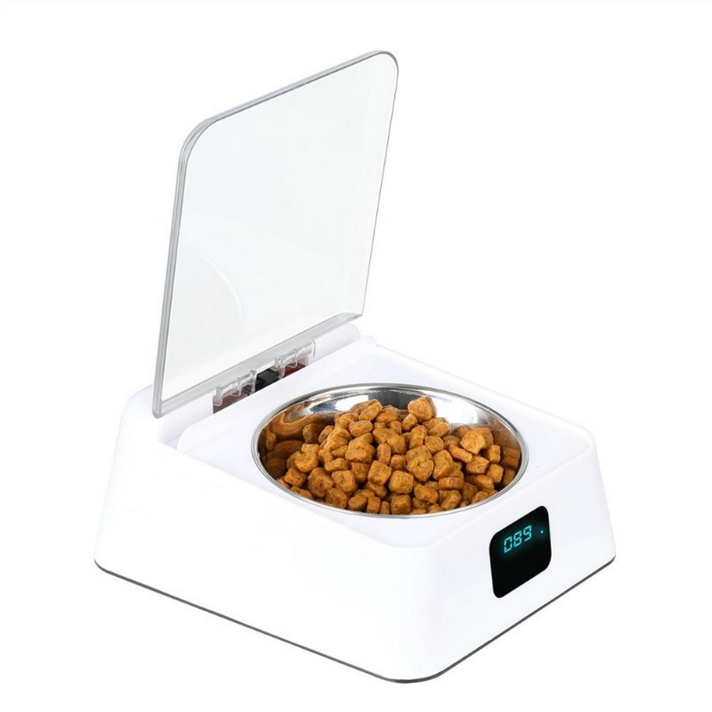 350ml Pet Dog Cat Automatic Feeder Pet Food Dispenser Infrared Auto Sensor Switch Cover Intelligent Bowl Pet Supplies