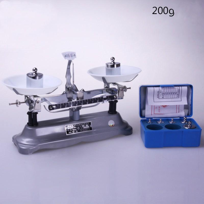 (200g / 0.2g) balança mecânica do equilíbrio do laboratório da precisão e do peso ajustados