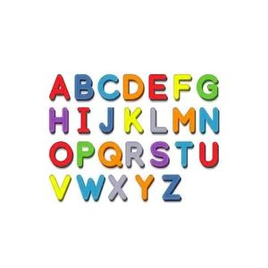 Magnetic Letters 243 Pcs Uppercase Lowercase Foam Alphabet For Fridge Magnets ABC Toys Set Refrigerator Educational M0G3