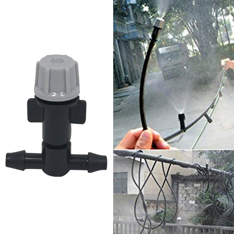 5pcs Single-head Atomization Water Spray Misting Sprinkler Rotating Nozzle Screen Irrigation Garden Easy Install With C4R3