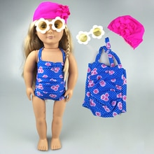 18 pouces génération américaine fille poupée vêtements Bikini costume 18