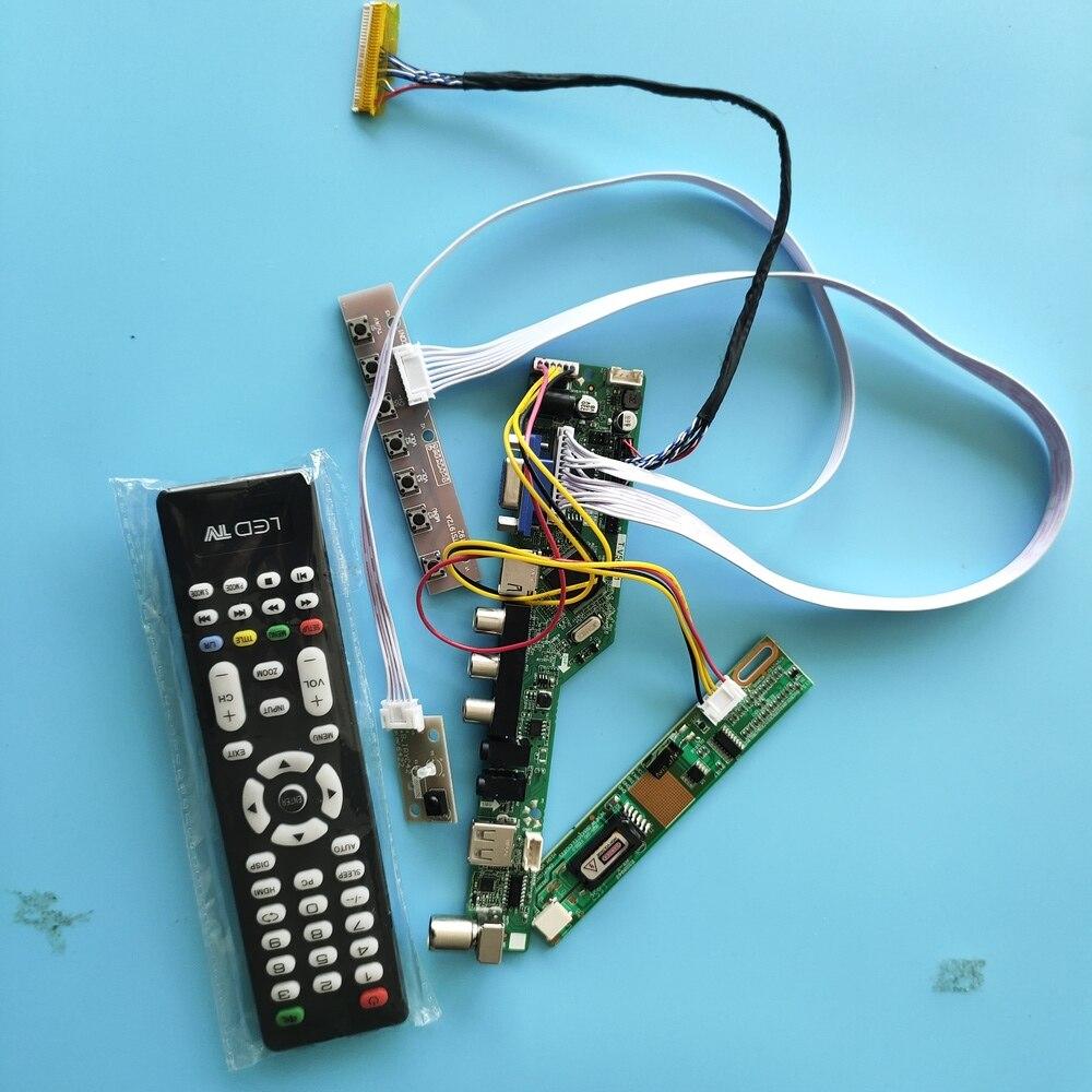 ل B121EW03 VB 30pin AV VGA الرقمية إشارة القرار 1 مصابيح 12.1