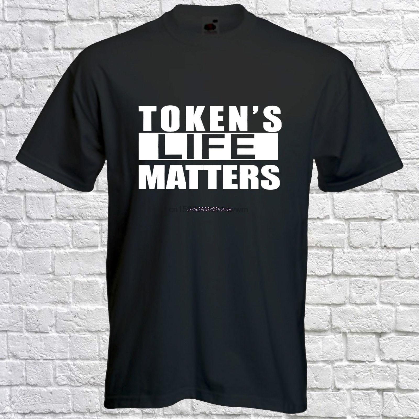 Token life matters camiseta-Camiseta de South Park-token Tee-funny-mens de manga corta Camiseta de verano para hombres de moda teeformable