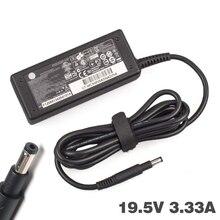 19.5V 3.33A 65W ordinateur portable adaptateur secteur chargeur pour HP ordinateur portable pavillon livre blanc 14 15 pour envie 4 6 série TouchSmart