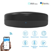Telecommande IR Smart Life  domotique  WIFI   controle IR  climatisation TV  fonctionne avec Alexa Tuya APP  pour maison connectee