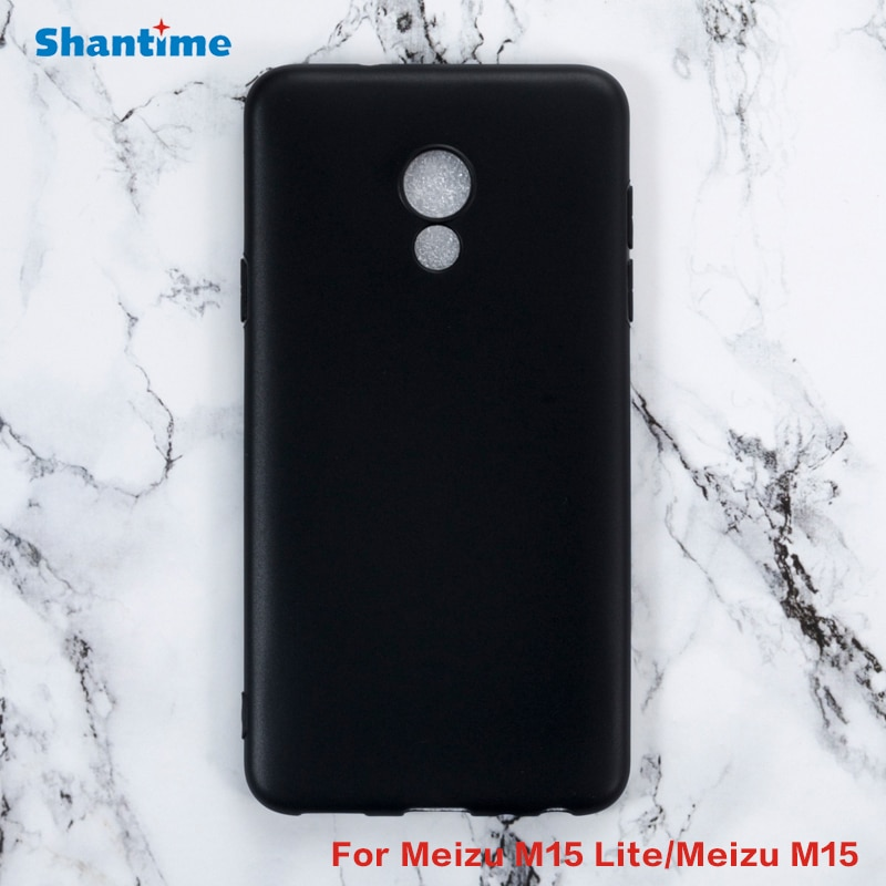 For Meizu M15 Lite Gel Pudding Silicone Phone Protective Back Shell For Meizu M15 Soft TPU Case