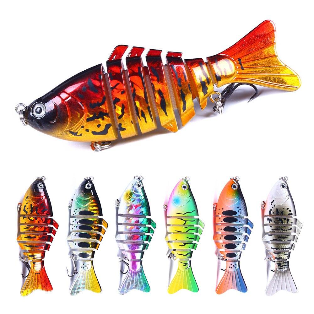 HENGJIA Рыбалка воблер (Wobbler) 23 г 10 см 1 шт мульти сегментов, приманка искусственная жесткая оседающая на дно приманка, рыболовные снаст...