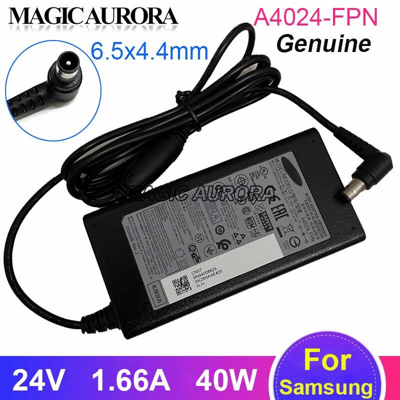 40W A4024_FPN AC DC محول لسامسونج مكبرات الصوت من K550 HW-J550 HW_K450 HWM450Z HW_J450 HW-M430 HW-N450 HW-M550 HW-KM45 24V1.66A