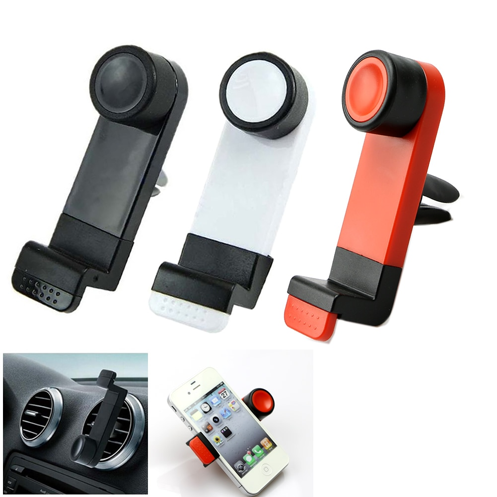 360° Rotating In Car Air Vent Mount Holder Cradle Stand For Mobile Phone