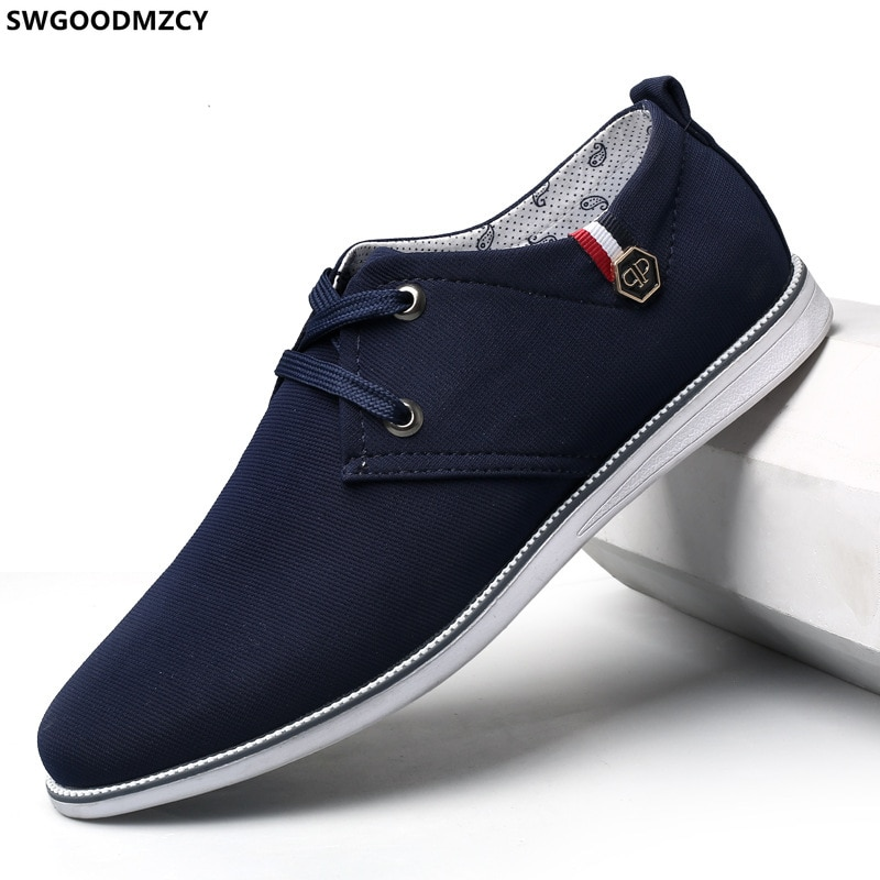 Canvas Shoes Men Casual Shoes for Men Office 2021 Men Shoes Luxury Brand High Quality Breathable Zap