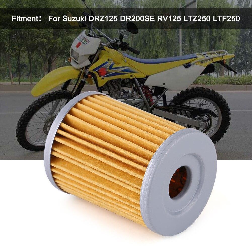 Filtro de óleo da motocicleta moto para suzuki drz125 dr200se rv125 ltz250 ozark an250 ltz250
