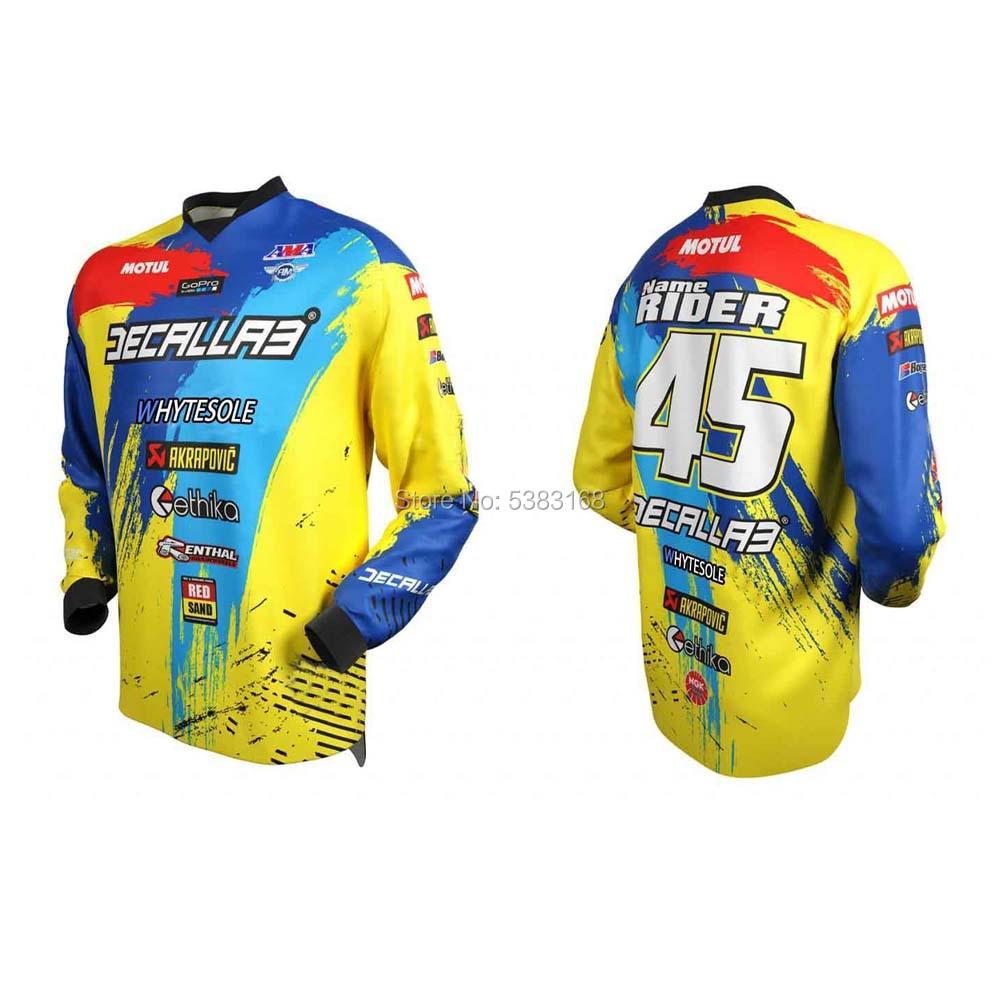 enduro Motocross Jersey 2020 Mtb jersey Motorcycle Mountain Bike downhill BMX DHShirt maillot ciclismo