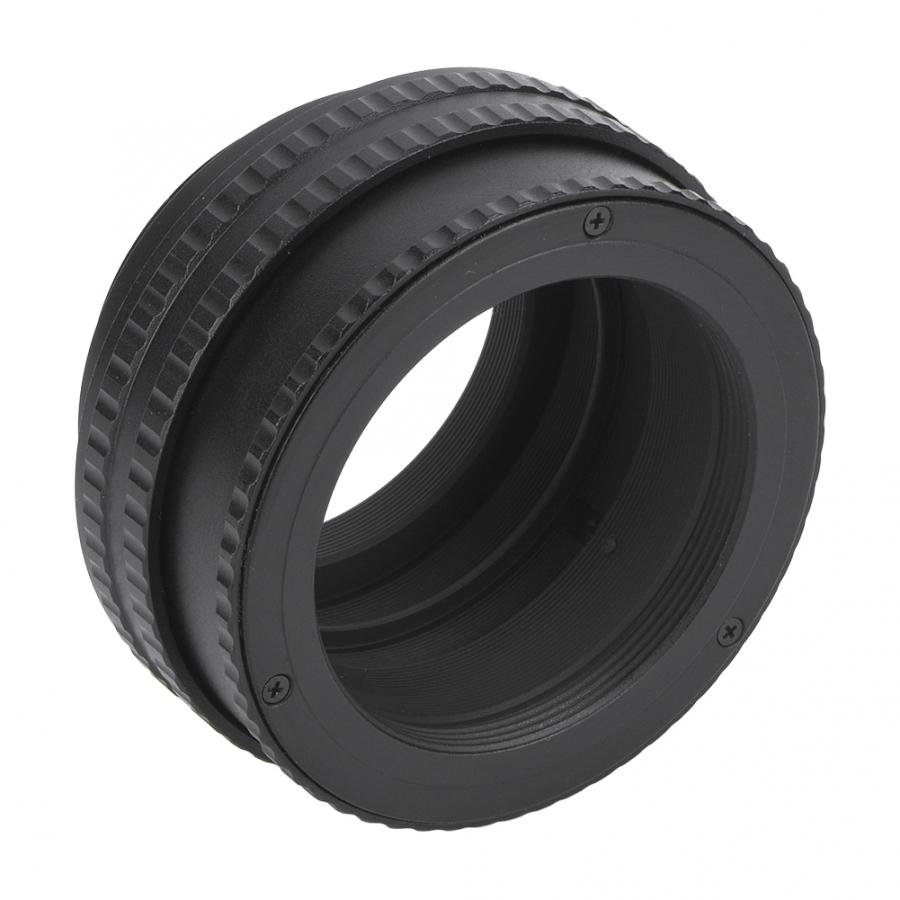 M42 a M42 soporte de lente de enfoque ajustable adaptador de lente helicoidal accesorio de tubo Macro (17-31mm) accesorios para lente de cámara