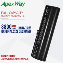 11.1V 8800mAh dv2000 Batterie pour HP Pavilion dv2100 dv2200 dv2300 dv2400 dv2500 dv2600 dv2700 dv6900 dv6800 DV2800 D2900 DV6000