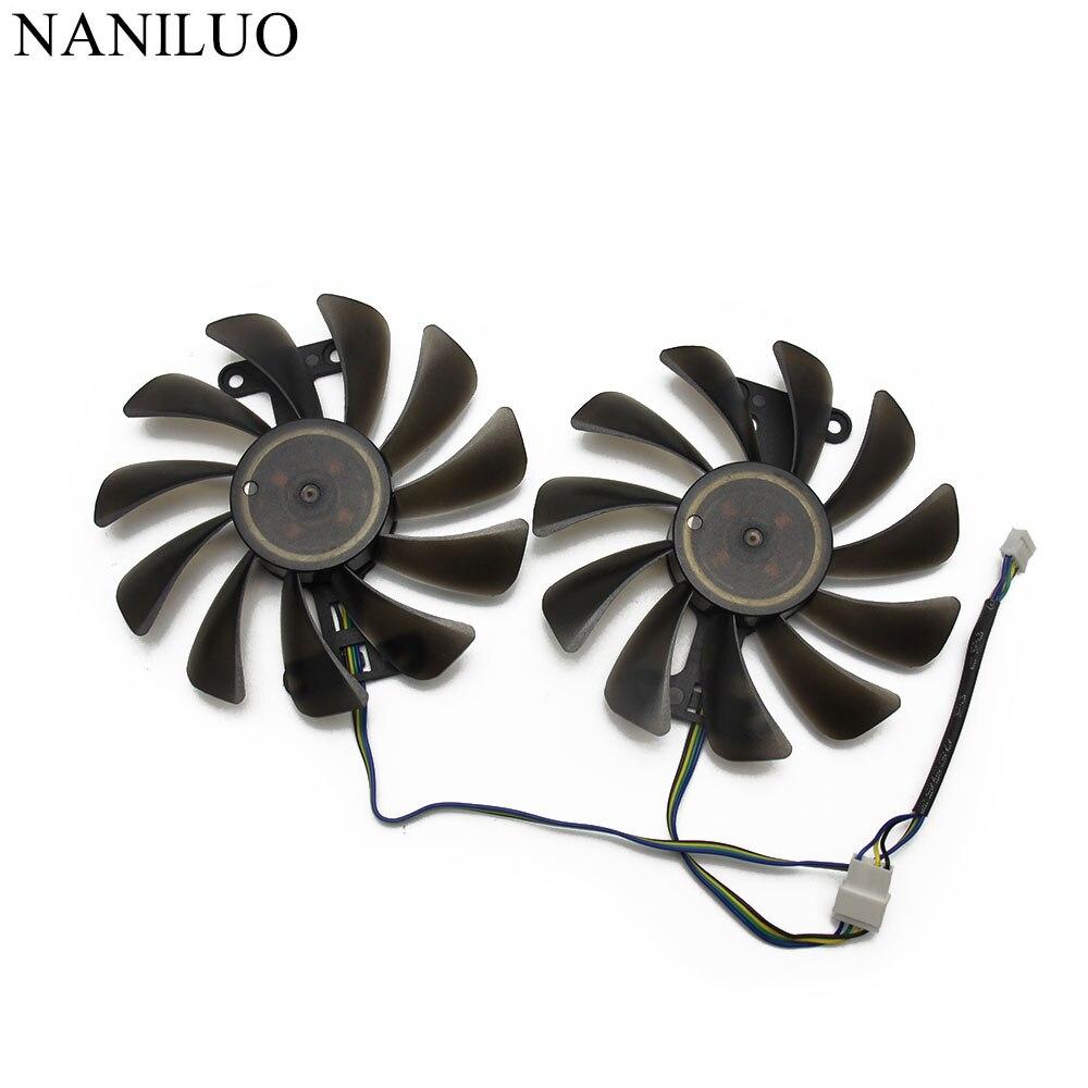 Nova 95mm GF10012H12SPA 4Pin Cooler Fan Substituir Para Zotac GeForce GTX 1070 AMP 1080 GTX1070 GTX1080 Placa Gráfica Arrefecimento fã