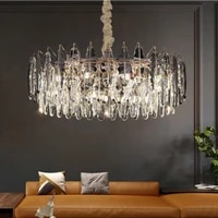 modern luxury led pendant lights nordic art living room atmospheric household pendant lamp bedroom kitchen decor home lighting