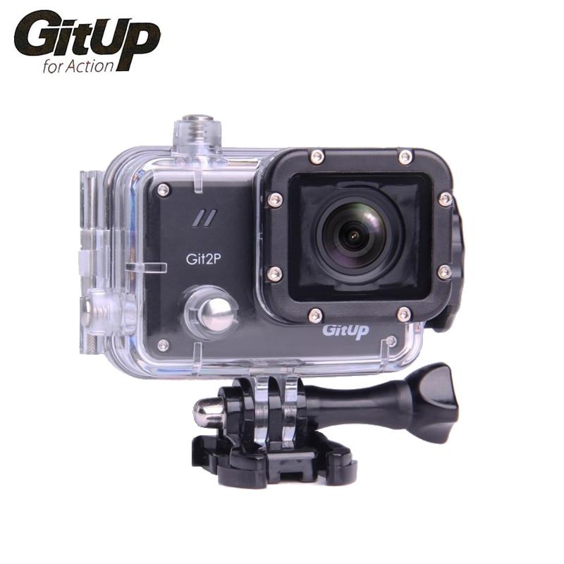 Original GitUP Marke Git2P Action Kamera 2K Wifi Volle HD 1080P 30M Wasserdichte Camcorder 1,5 zoll Novatek 96660 Git 2P PRO Kamera