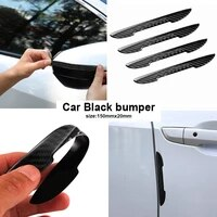 4pcs car door carbon fiber anti collision stickers for opels corsa c d astra g h j gtc mokka x zafira b insignia car accessories