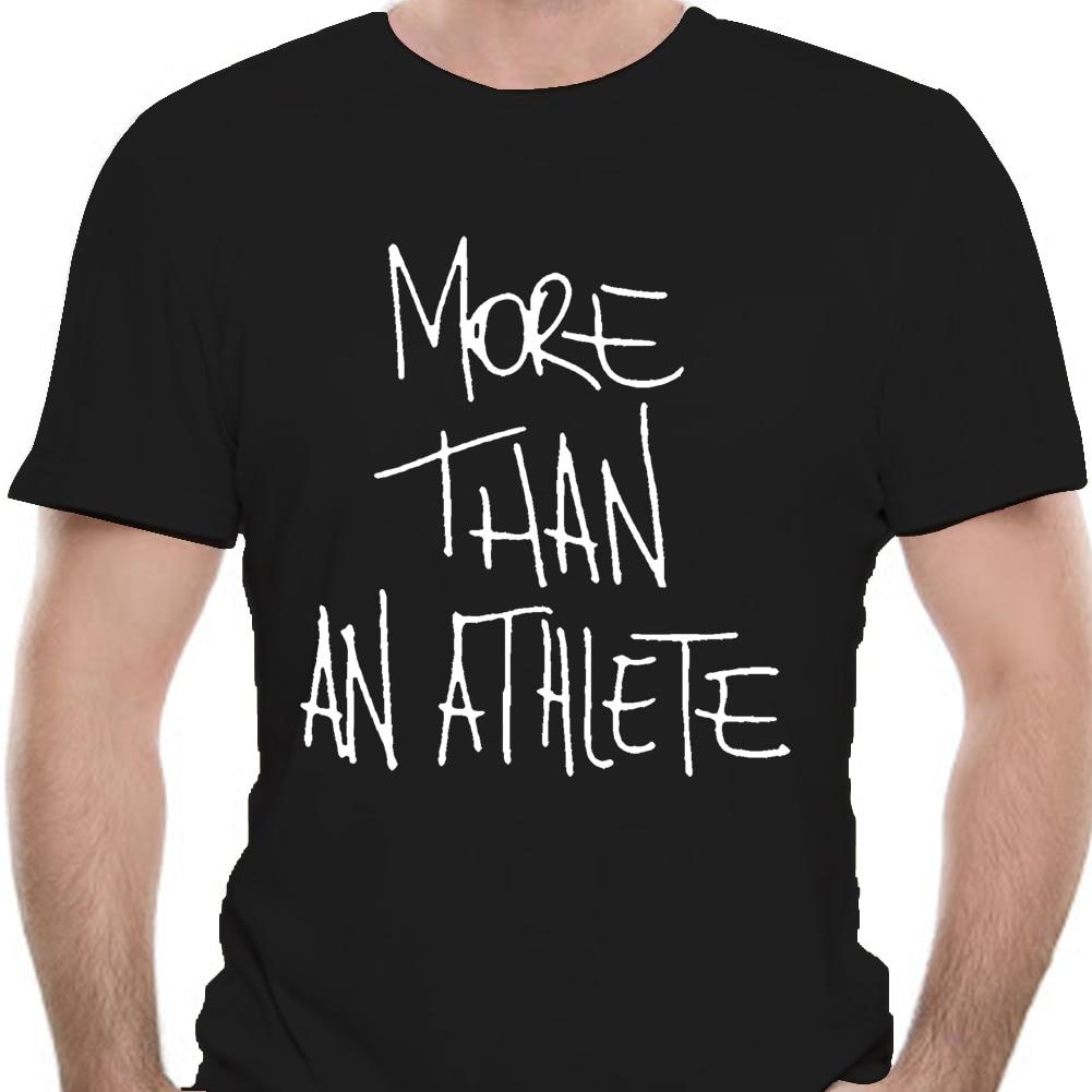 Melhor camisa masculina t mais do que uma camisa de atleta