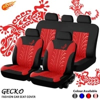 2021 new set of gecko mesh cloth for all seasons leather car seat cushion universal auto accessories