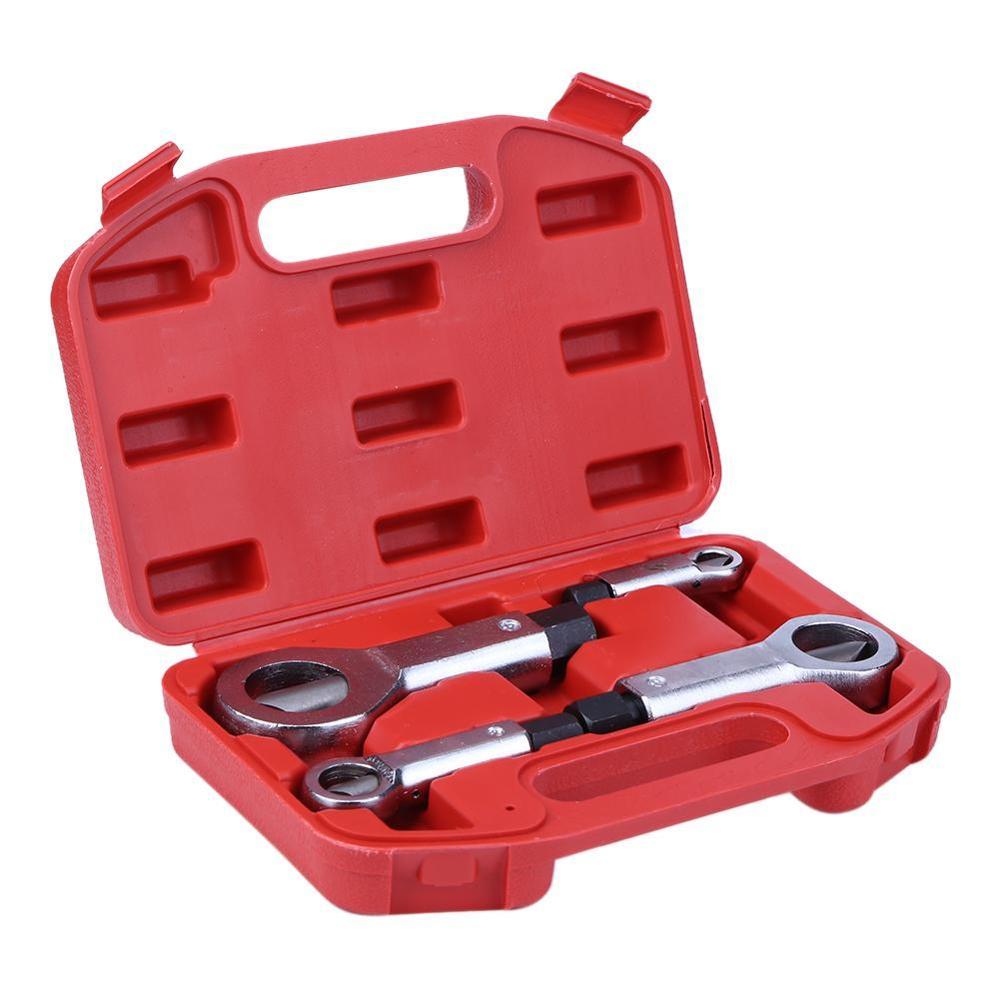 Separador profesional de tuercas dañadas de 9-27mm, removedor de Cascanueces, removedor Manual de tuercas, herramientas para extracción de madera