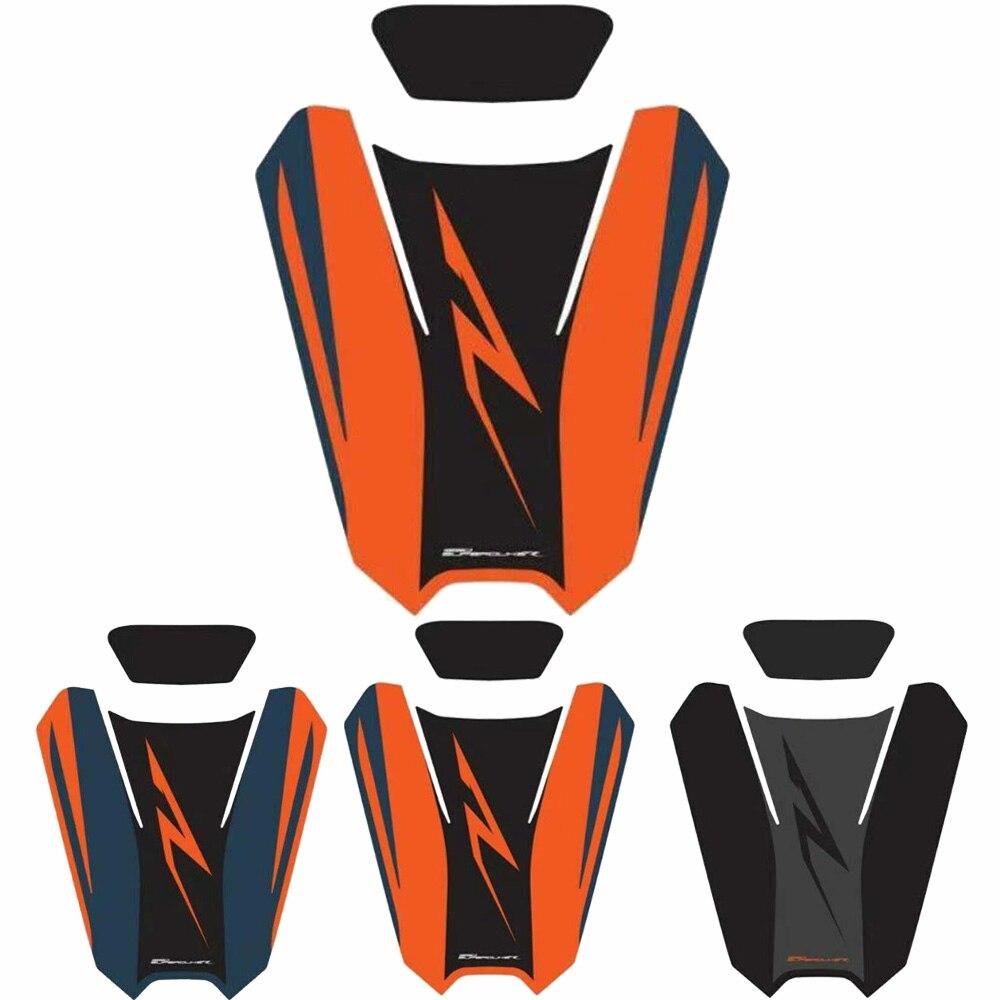 دراجة نارية الركاب الخلفي غطاء مقعد Pillion الجرافيك ملصق سنام الجرافيك ل KTM 1290 Superduke R 2020 2021