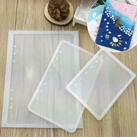 1pcs silicone mold resin art a7a6a5 notebook cover mould jewelry making tools casting mold diy craft accessories