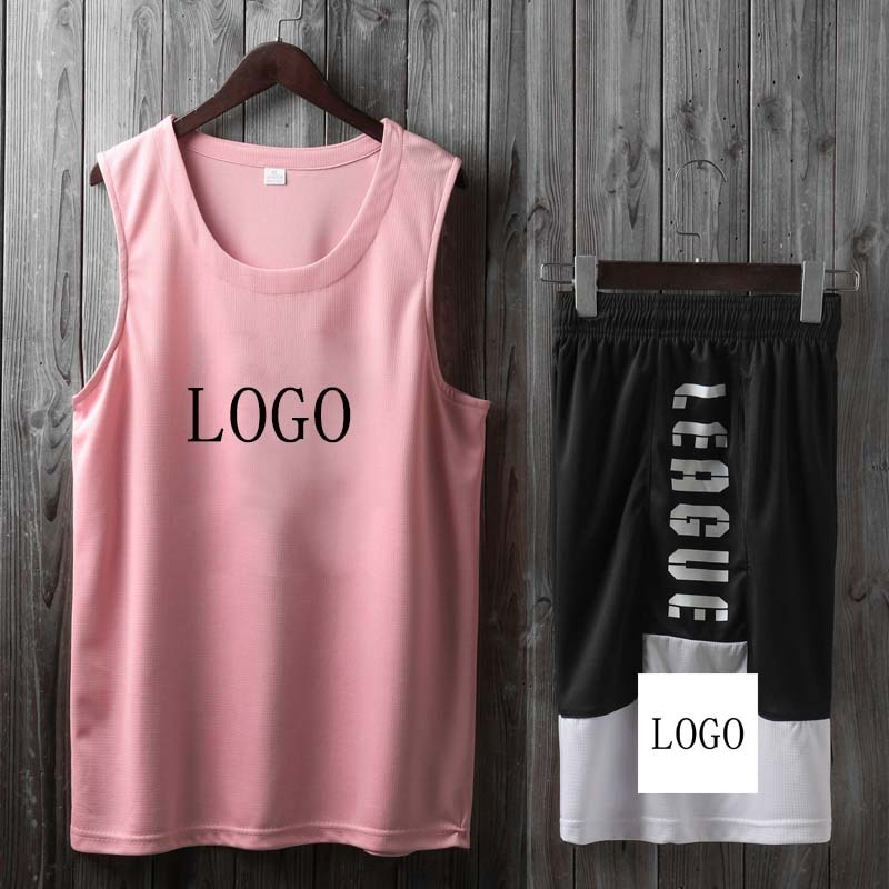 Loose Sleeveless Game Uniform Vest Basketball Uniform Suit Men and Women Team Uniforms Breathable Sports Jersey