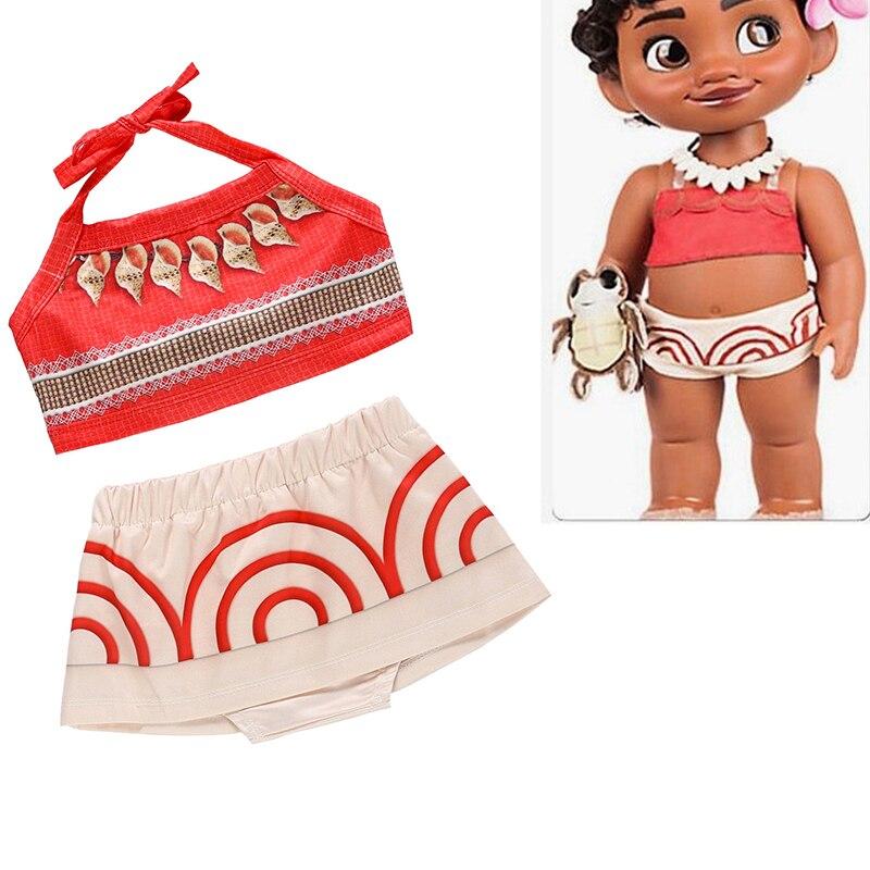Детский костюм Моаны из фильма Пурим, карнавальный костюм принцессы полинезиана для девочек, карнавальный костюм на карнавал, Хэллоуин, веч...