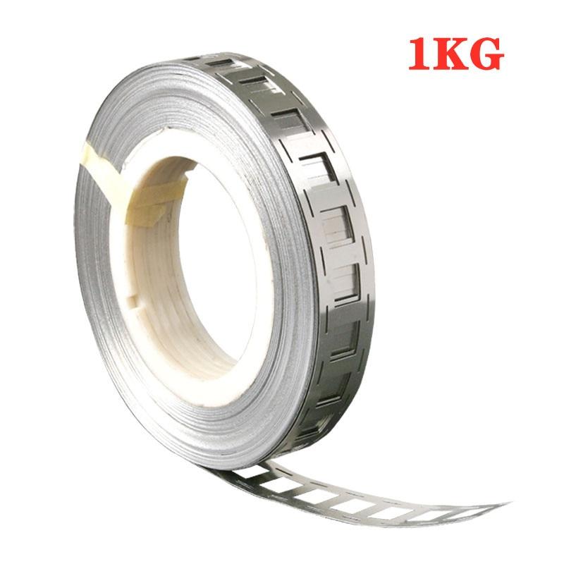 1kg 99.96% Pure Nickel Belt 0.15*20.2*27mm Lithium Battery Nickel Strip Li-ion Batteries Ni Plate For 18650 Welding Nickel Strip