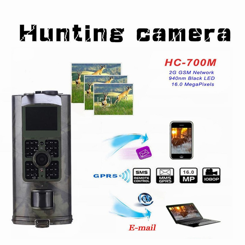 Review HC700M Hunting Trail Camera Wildlife Camera With Night Vision Motion Activated Outdoor Trail Camera Trigger Wildlife Scouting