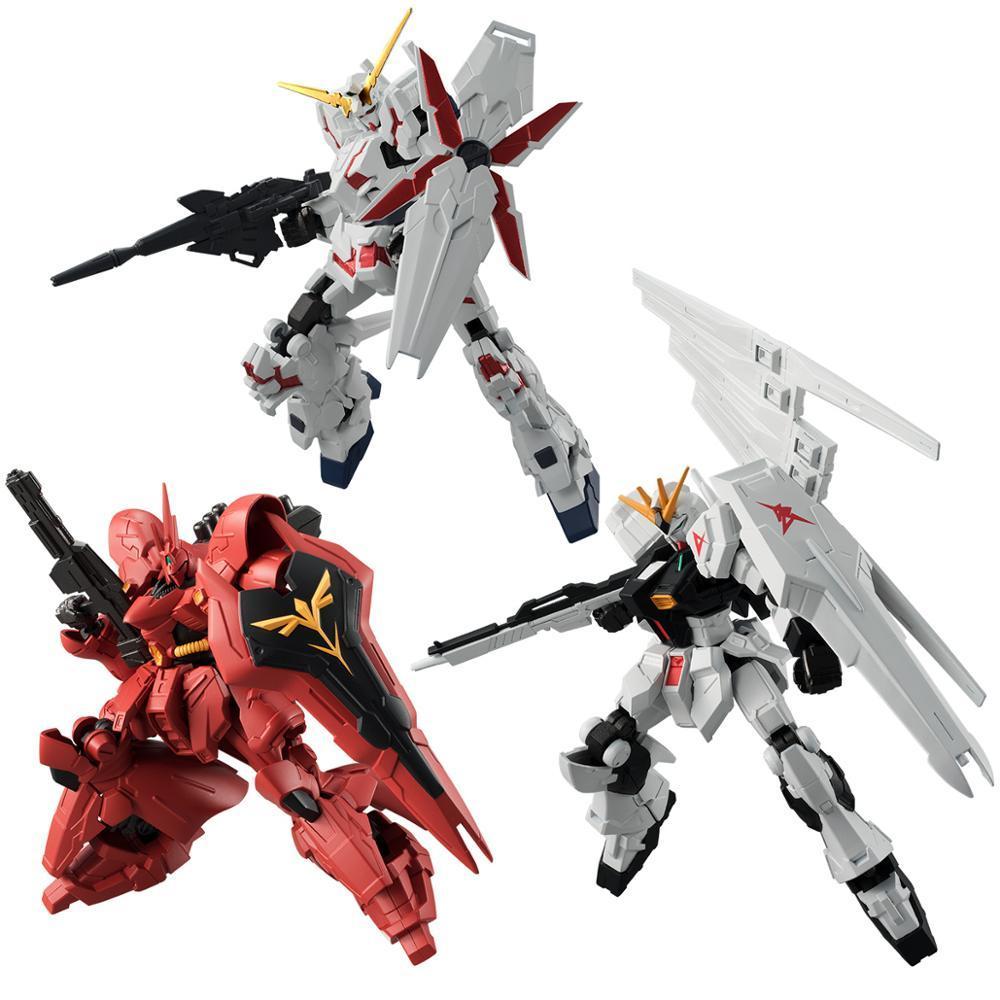 Juego de armadura Gundam modelo G marco RX-93 unicornio SAZABI figura de acción juguetes figuras modelo Brinquedos