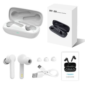 XY-20 Anker Soundcore Vida Real Wireless Headphones With 4 Microphones PVC 8.0 Noise Reduction 40h Playtime IPX7 Water-proof