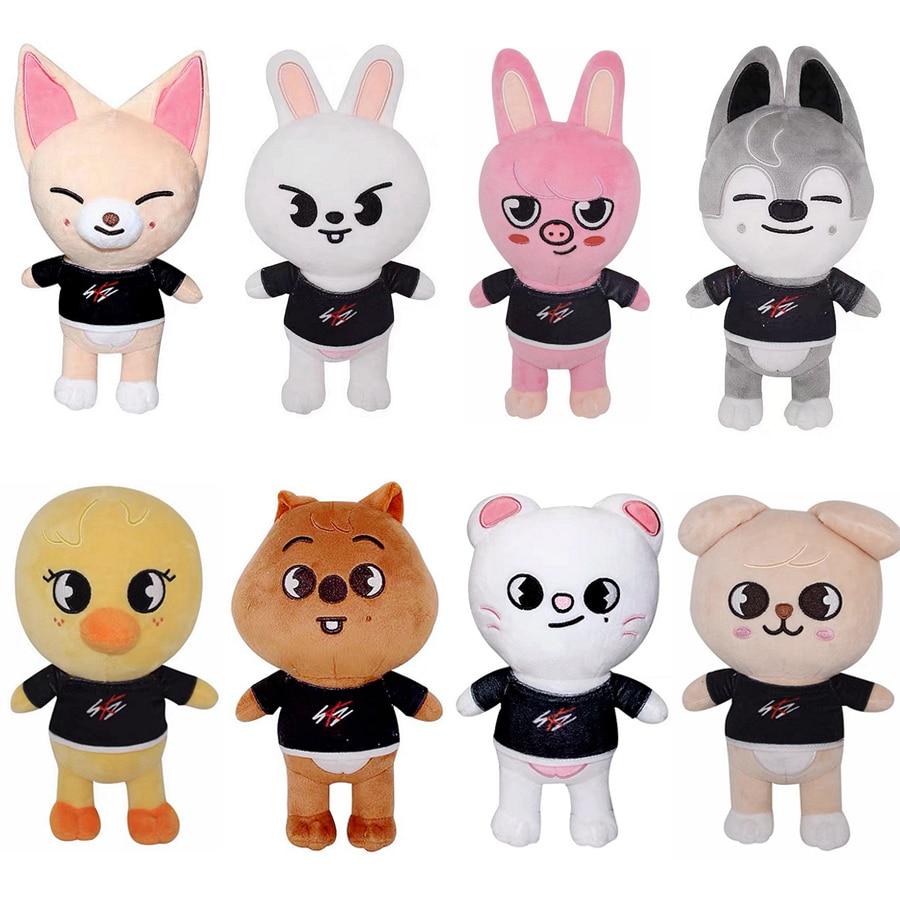 Плюшевые игрушки Skzoo бродячие Детские Мультяшные набивные плюшевые животные 20 см куклы кавайные Bbokari спутники для детей взрослых подарок ...