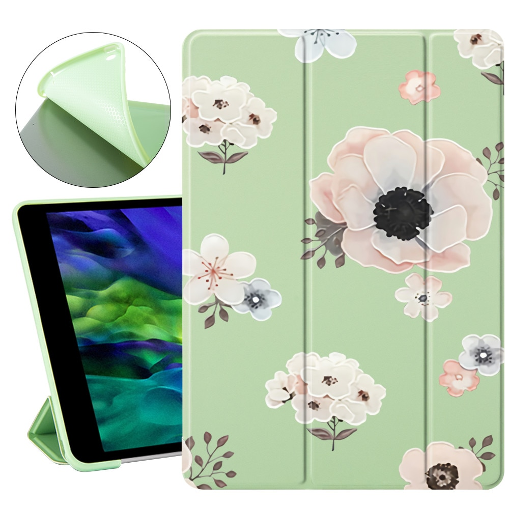 Cute Flowers For ipad 7th 8th generation case Auto Wake UP For iPad Pro 11 2020 Case For ipad mini 2 3 4 5 For ipad Air 2 Air 4 enlarge