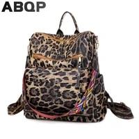 abqp luxury alligator women leather backpack large capacity female travel bag multiple pockets school backpack for girl
