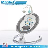 2020 safety baby rocking chair 0 3 baby electric cradle rocking chair soothing the babys artifact sleeps newborn sleeping